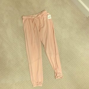 Pale pink - Free People Sweatpants